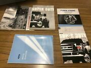 2010 Ford 350 Super Duty Owners Manual And Paperwork