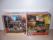 Signs Of The Times And Seed And Feed Store 1000 Oversize Pieces Puzzles By Sunsout