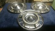 Three 1960 Buick Lesabre Deluxe Wheelcovers Hubcaps