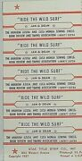 Jukebox Title Strip Sheet - Jan And Dean Ride The Wild Surf Liberty 55724