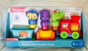 Nib Fisher-price Rattle And Roll Animal Silly Safari Train Infant Toy