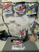 Rare 2005 Coors Beer/nascar 40 Advertising35and039 String Flag Banner24 Flags