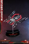 Hot Toys Lms011 1/1 Life-size Far From Home Spider-drone Spider-man Display Toy
