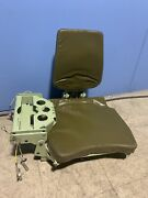 Military Bradley Tank Armored Carrier Command Seat And Bracket 19 Kilo Tanker