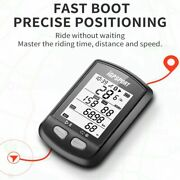Igs10s Computer Bluetooth 5.0 Ipx6 Waterproof Smart Ant+ Cycling Speedometer