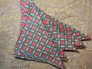 Andnbspset Of 4 Pierre Deux Fabric Dinner Napkins
