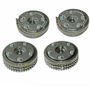 Set Of 4 Camshaft Timing Adjusters Intake And Exhaust For Mercedes-benz C350 E350