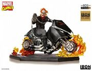 Iron Studios Ghost Rider Exclusive Limited 1/10 Action Figure New Hot Toy Stock