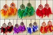 New Handmade Dream Catcher With Feathers Home, Car And Wall Hanging Decoration