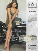 Ebel Watches 1-page Magazine Print Ad 1993 Gabrielle Reece Legs Feet Ankles Toes