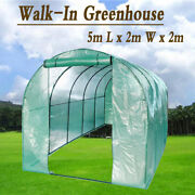 5x2x2m Larger Walk In Greenhouse Portable Garden Grow Outdoor Plant Green House