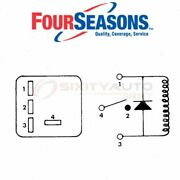 Four Seasons Ac Compressor Cut-out Relay For 1985-1987 Oldsmobile Cutlass Ep