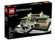 Lego Architecture Set 21017 Imperial Hotel Japan 1188 Parts New Sealed