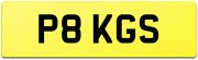P8 Kgs Rare 1 Digit Old Style Private Car Reg Number Plate No Hidden Fees Kg Ks