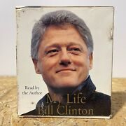 My Life By Bill Clinton 6 Cd Abridged Audiobook Free Us Shipping
