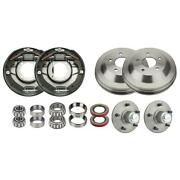 Bendix Style Front Brake Kit For 1937-48 Ford Spindles 12x2 Inch