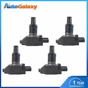 4pcs Ignition Coils 3 Pins For 2004-2011 Mazda Rx-8 R2 4-door 1.3l Uf501 Igc0089