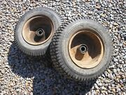 New Holland Ariens S-14 Tractor Front Turf Tires Rims 16x6.50-8