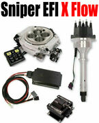 Holley 550-540k Sniper Efi Xflow Fuel Injection System 565-300 556-151 556-152