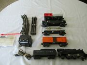 Lionel 1950and039s Electric Train Set W/ Light And Smoke. Compl.ete And Ready To Run Set
