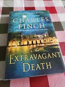 A Charles Lenox Mystery An Extravagant Death By Charles Finch 2021, Hardcover