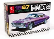 Amt 1967 Chevy Impala Ss Stock 125 Scale Model Kit