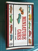 Vintage Matchbox Cars Carrying Case With 16 Cars