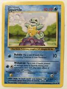 Wizards Rare Squirtle Pokemon Card 93/130