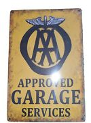 Gas, Oil And Automotive, 11 Vintage Retro Style Metal Tin Signs
