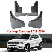 Set Splash Guards Mud Flaps Fender Protector Dirt Fit For Jeep Compass 2011-2016
