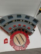 Thomas And Friends Tidmouth Engine Shed Deluxe Roundhose Station 2004 Wooden