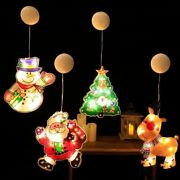 Christmas Led Light Room And Window Lantern Holiday Gifts Home Decorations Crafts