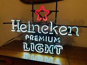 3 Beer Neon Signs And 1 Fireball Whiskey Lighted Sign
