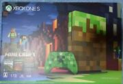 New Xbox One S 1tb Minecraft Limited Edition Console From Japan Xone Fedex