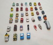 Vintage 1986-89 100 Galoob Micro Machines Vehicle Tank Boat Truck Car Lot Of 38