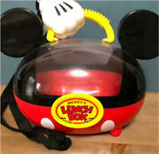 Disneyland Limited Edition Mickey Mouse Lunch Box Accessory Case Toontown Pretty