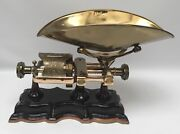 Antique Restored Dodge Mfg Micrometer 5lb Candy Scale General Store