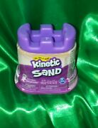 Kinetic Sand 4.5 Oz New Sealed Castle Package Purple Color Free Shipping