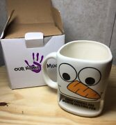 Our Name Is Mud Snowman Dunk Mug 2015 Enesco Some Cookies Are Worth Melting For