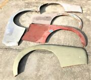Used Oem ... '57 - '62 Triumph Tr3a - Tr3b Rh And Lh Fenders And Trunk K021