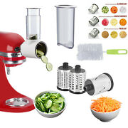 For Kitchen Aid Stand Mixer Prep Slicer Shredder Attachments Cheese Processor