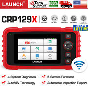 Launch X431 Crp129x Obd2 Scanner Auto Scan Tool Abs Srs Sas Tpms Throttle Epb At