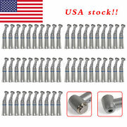 100 Nsk Style Dental Push Button Slow Speed Contra Angle Handpiece Us Stock Fe1d