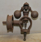 Rare Antique Steam Engine Governor Fly Ball Hit And Miss Early Motor Collectible