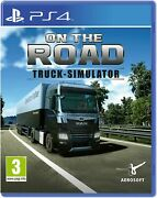 On The Road Truck Simulator For Ps4 New And Sealed