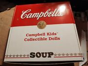 Campbell Soup Kids Collectible Porcelain Dolls - Scottish Boy And Girl