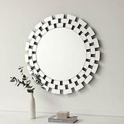 Kohros Large Round Decorative Mirrors For Wall Decor Antique 31.5 Cricle