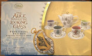Disney Stores Alice Through The Looking Glass Fine China Tea Set Le Nrfb 2016