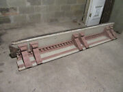 Antique Soffit With 6 Corbels And Dentil Molding 113 Inches Wide Salvage