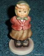 Clear As A Bell Goebel Hummel Figurine 2181 - Cute Collectible Gift For Mom